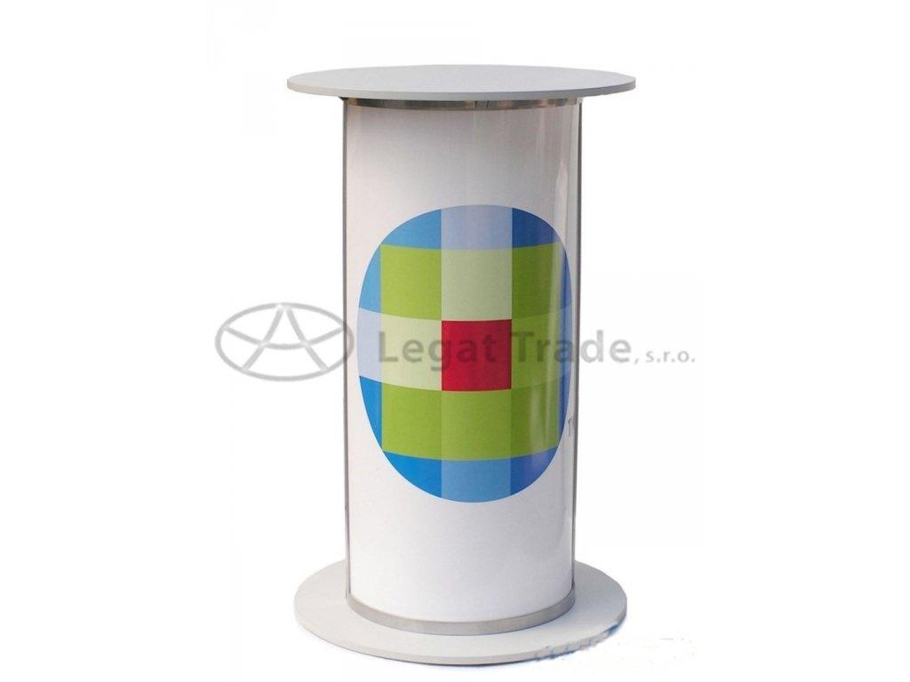 LAROU Prezentační a reklamní promo stolek 70 x 45 x 90(110) cm