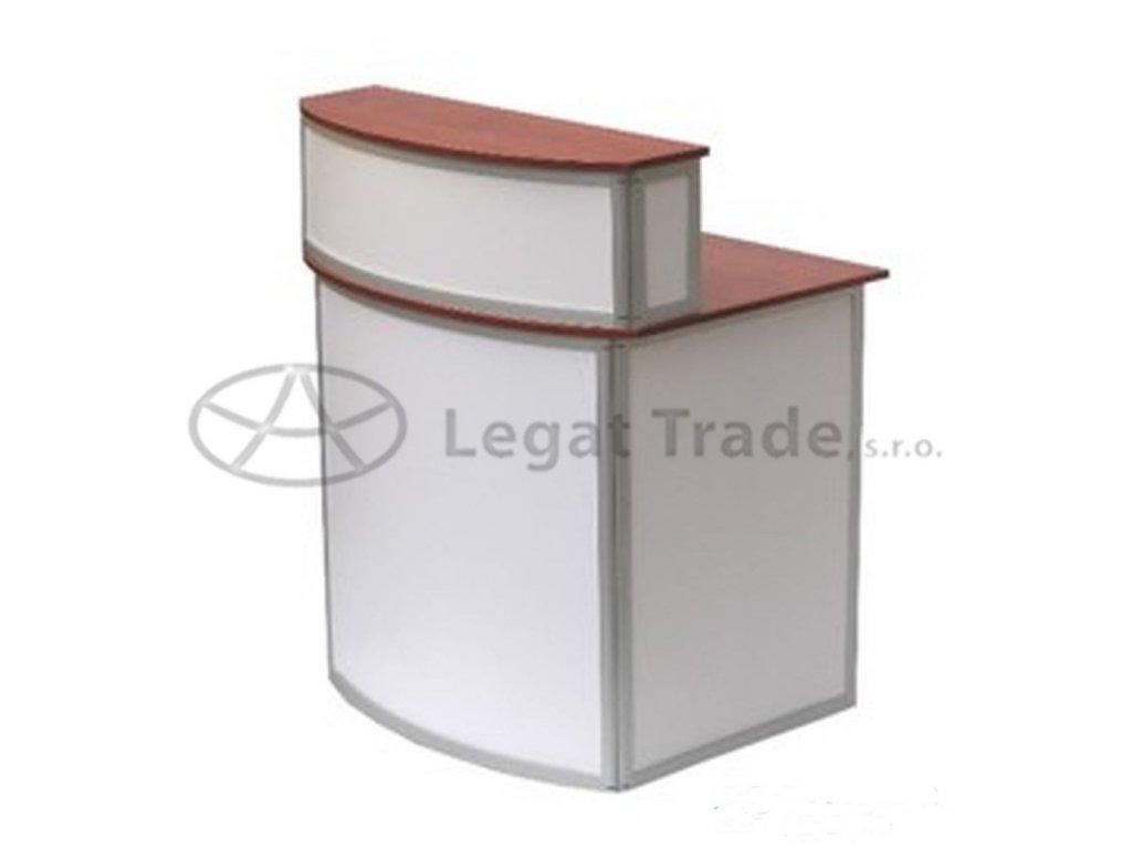 Prezentační a reklamní promo stolek 100 x 70 x 90+22 cm