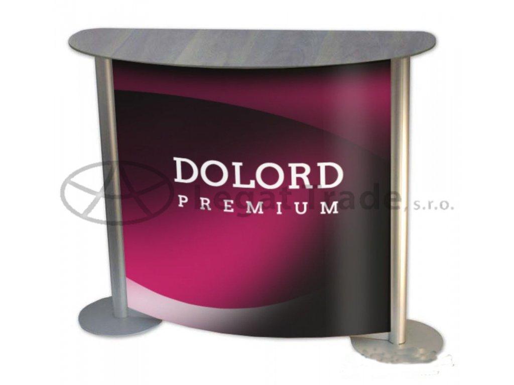 LAEAS Prezentační a reklamní promo stolek 110 x 35 x 90 cm