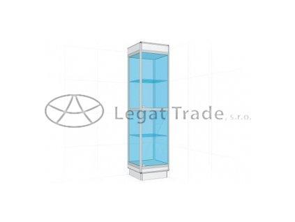 Prosklená vitrína G1S 500x1800x500mm