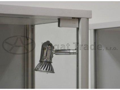 LED osvětlení do výstavních vitrín