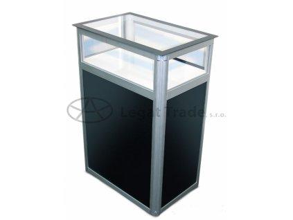 LAORA Prezentační a reklamní promo stolek 80 x 40 x 90 cm