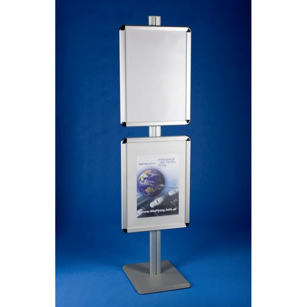 Stojan na plakáty A2 Název: Antireflexní zesílená folie 0,4 mm pro ochranu a lepší viditelnost