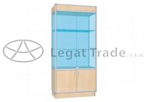 Prosklená vitrína G2M 1000x1800x500mm Název: Bez osvětlení