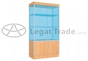 Prosklená vitrína G2AM 1000x1800x500mm Název: S osvětlením