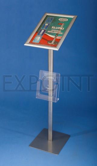 SP16 Informační stojan A4 Název: S kapsou 1/3 A4
