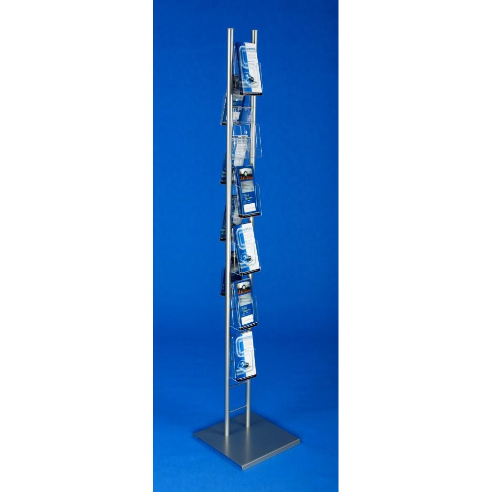 EXPOINT Reklamní stojan na letáčky s kapsami formátu DL Název: Obsahuje 8 kapes formátu 1/3 A4