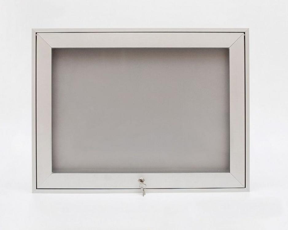 Vitrína závěsná s úzkým profilem Název: Formát 1xB1, rozměr: šířka 820 x výška 1110 x hloubka 33mm