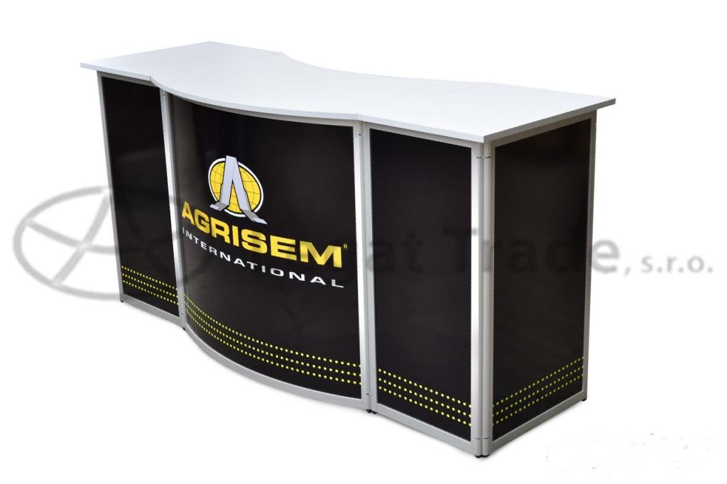 Prezentační a reklamní promo stolek 190 x 60 x 90 cm Název: promo stolek LOCOMOTIVE