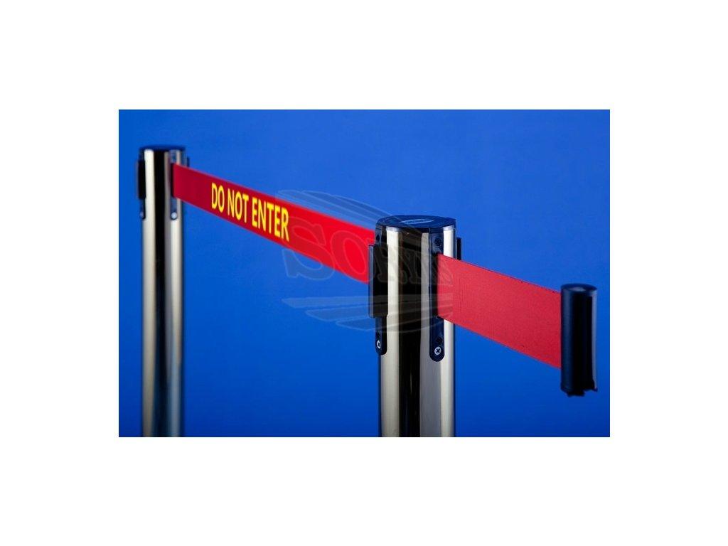 Potlač pásky pre zahradzovací stĺpik