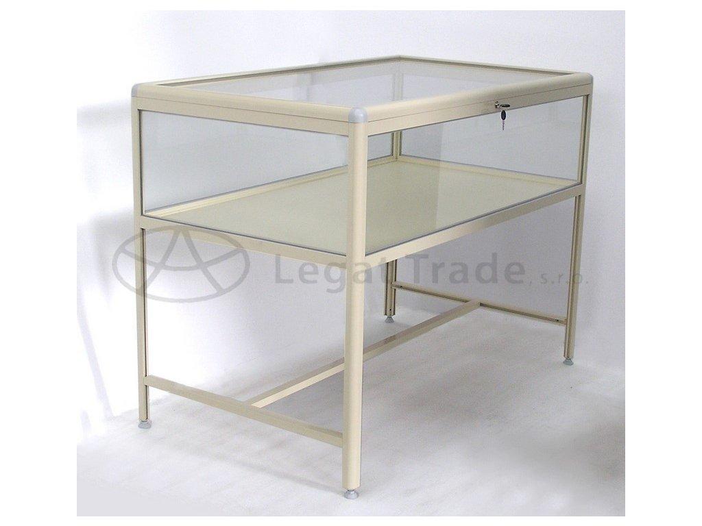 Výstavná vitrína stolová I (kalené sklo)