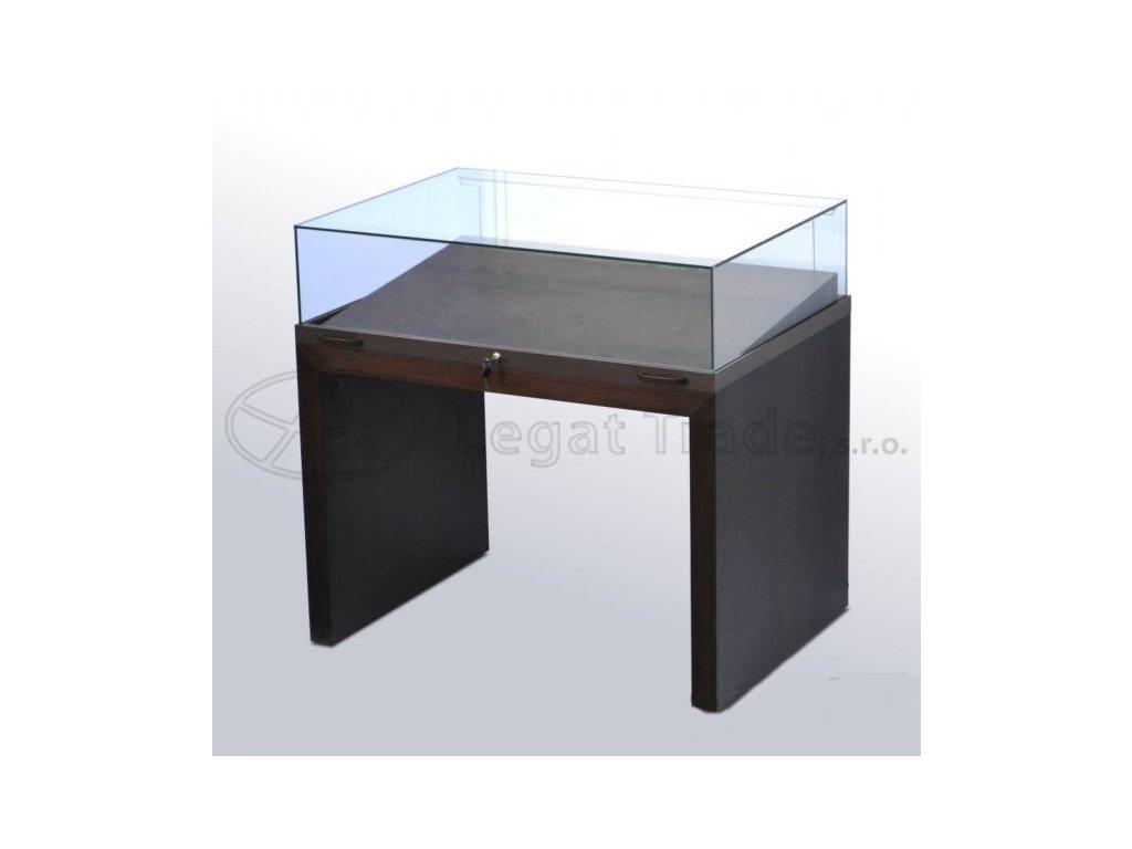Výstavná stolová vitrína v prevedení dyhaI