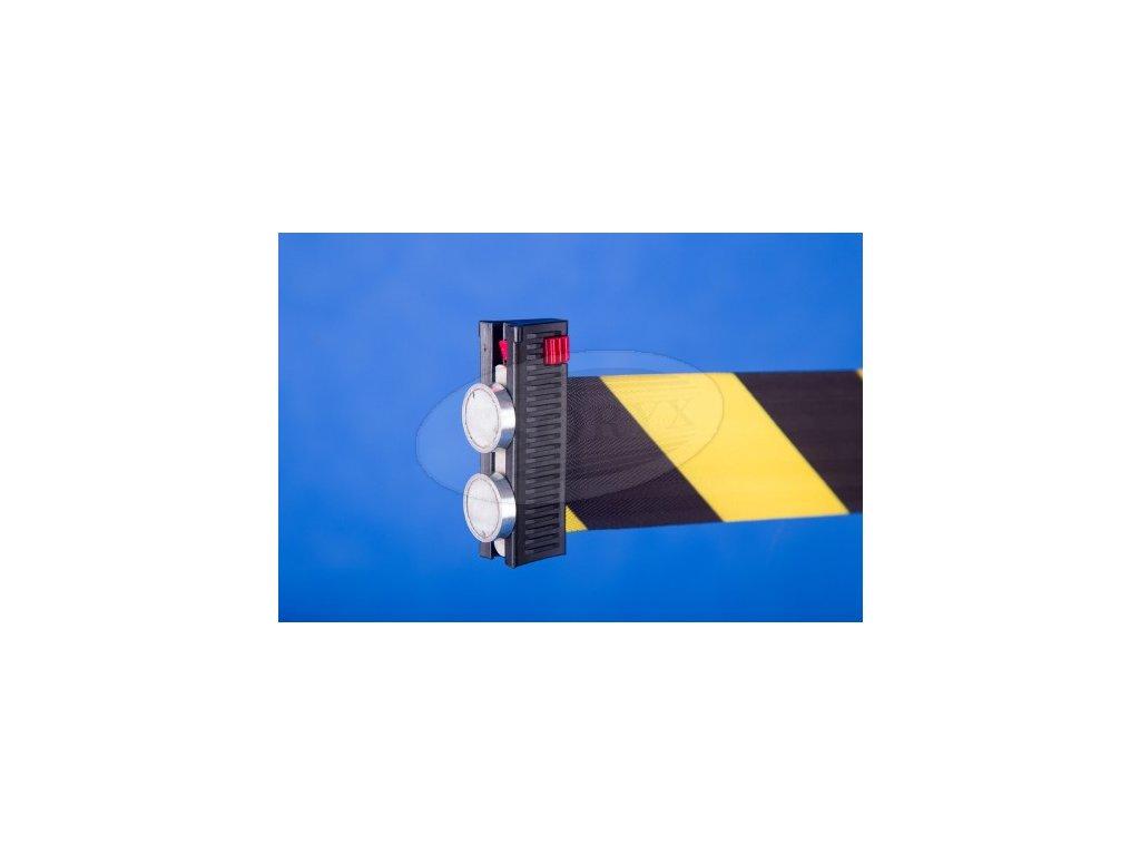 magnetické uchycení pásky