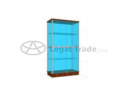Presklená vitrína G2BS