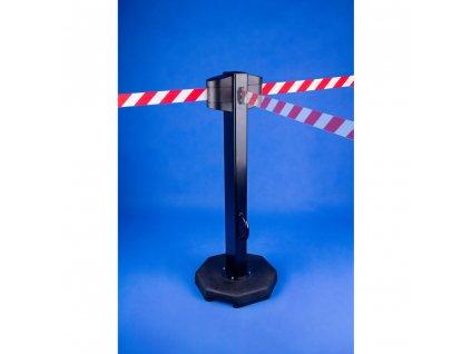 Vymedzovací stĺpik s dvoma kazetami s páskou 5m