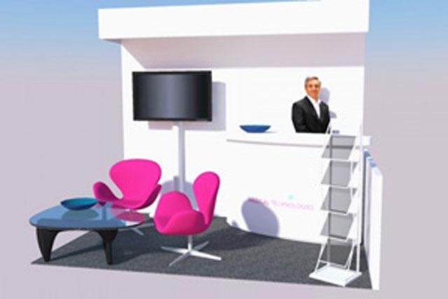 Nábytek a vybavení stánků