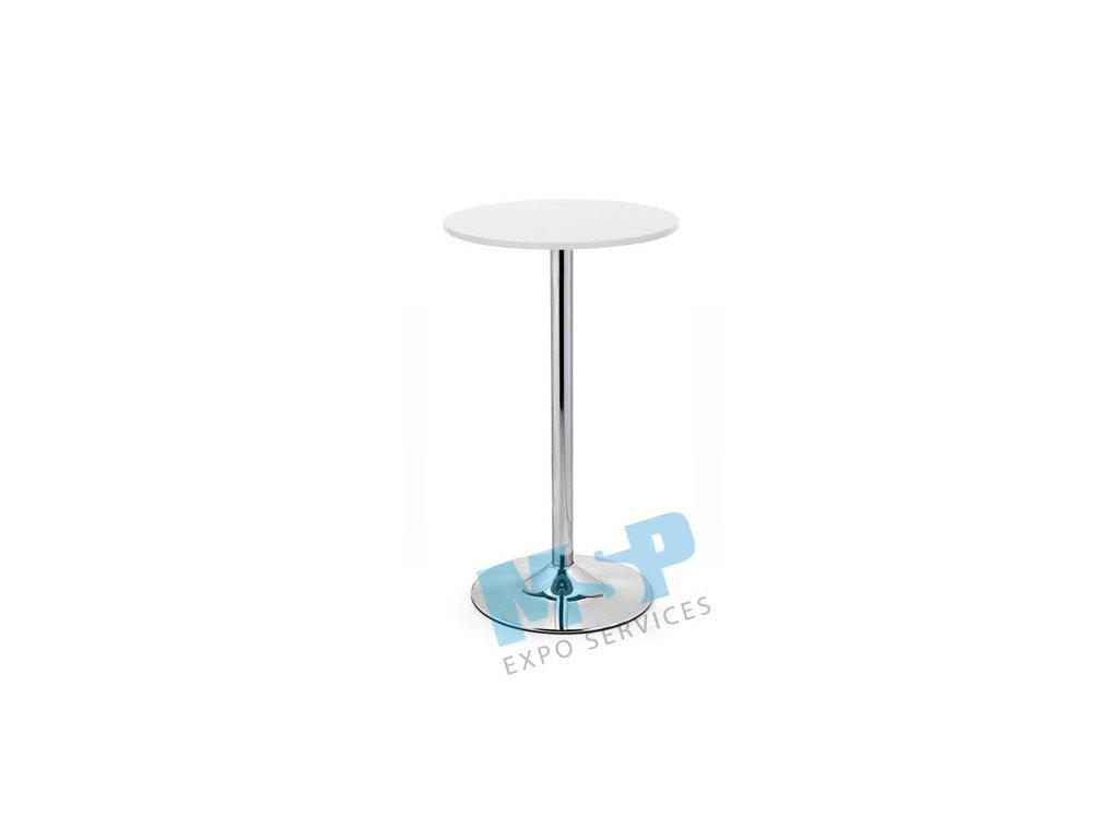 barový stůl bílý