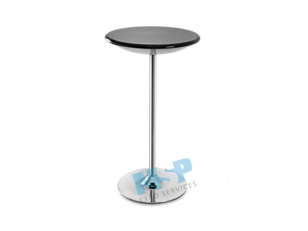 barový stůl černý