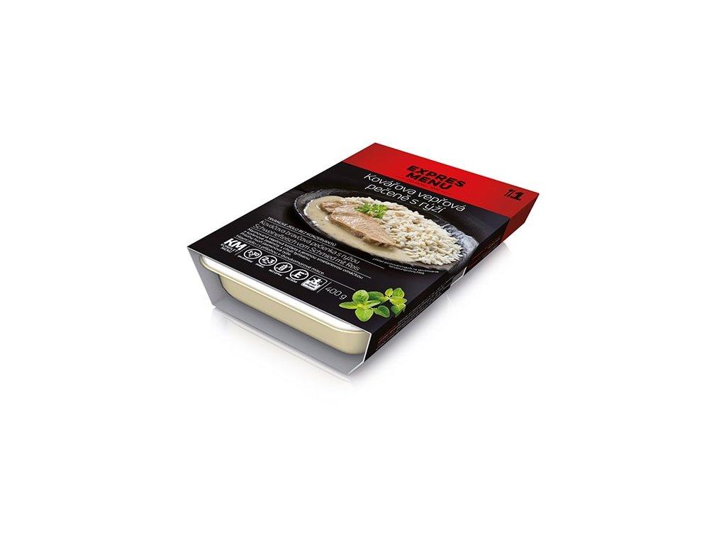 KM Kovářova vepřová pečeně s rýží