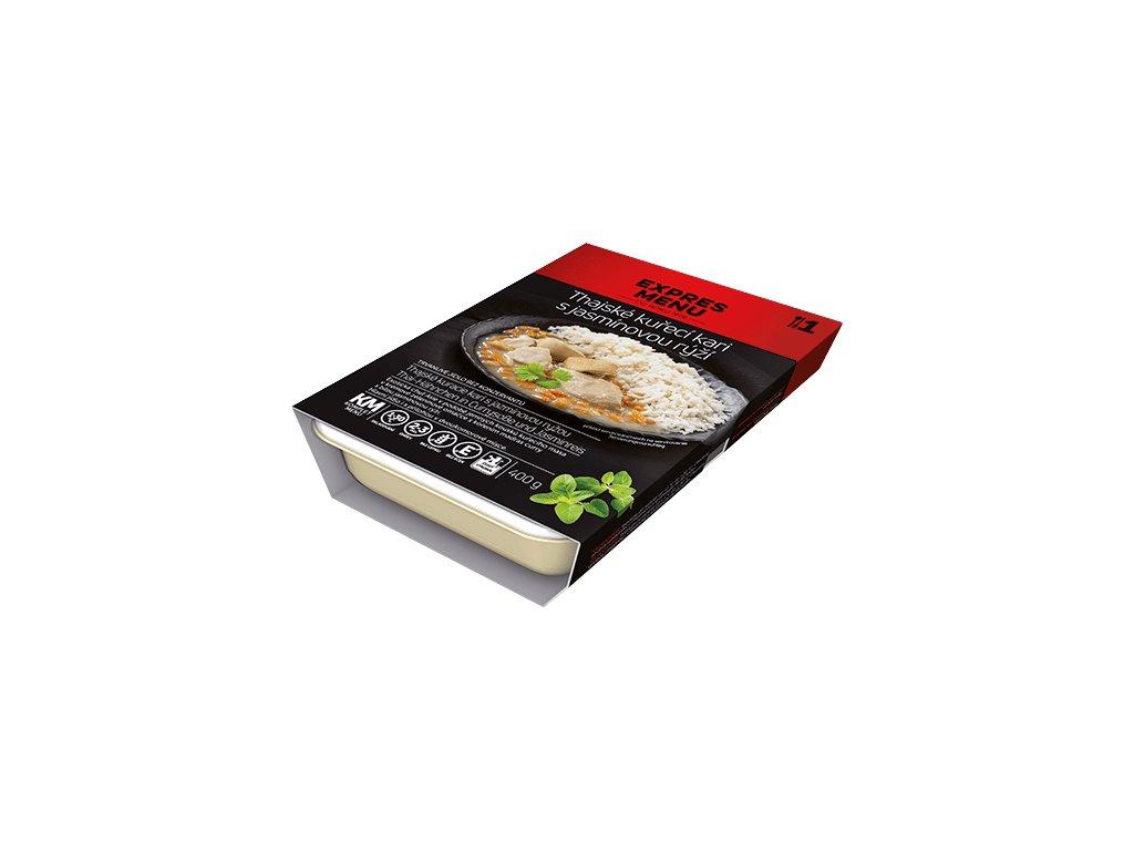 KM Thajské kuřecí kari s jasmínovou rýží