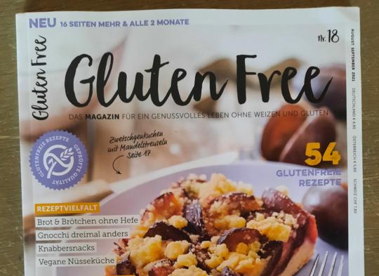 Magazin Gluten Free berichtet über Expres Menu