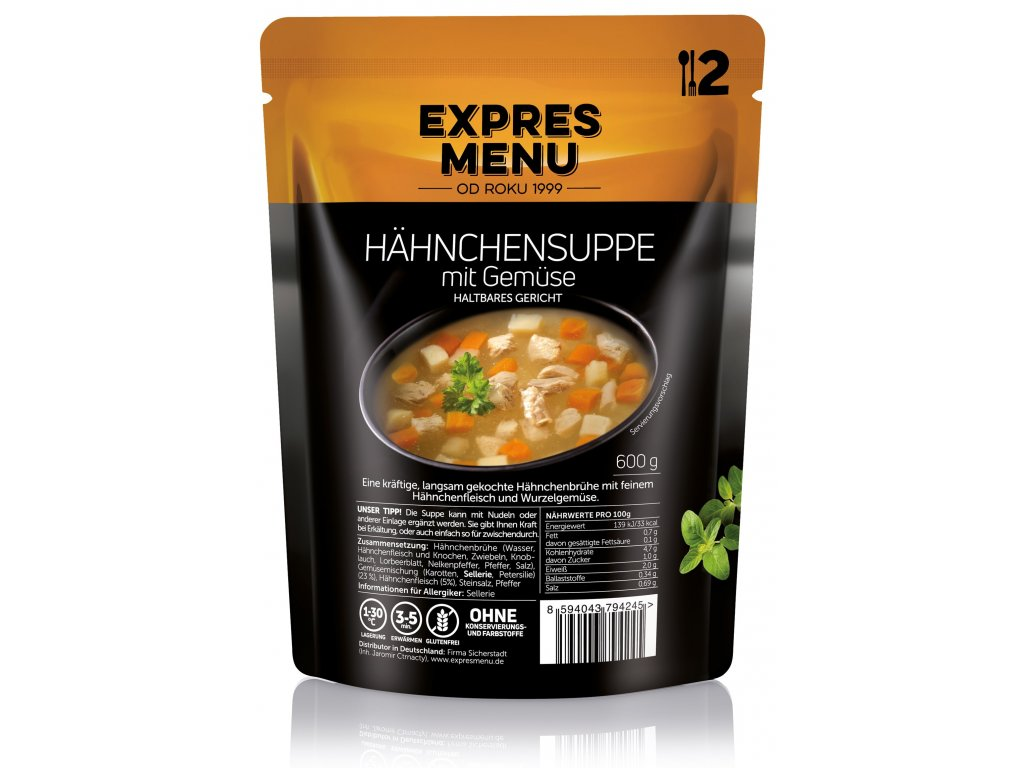 Hahnchensuppe