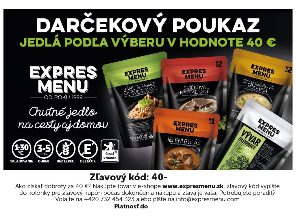 Darkovy kupon 40 SK preview 1000px