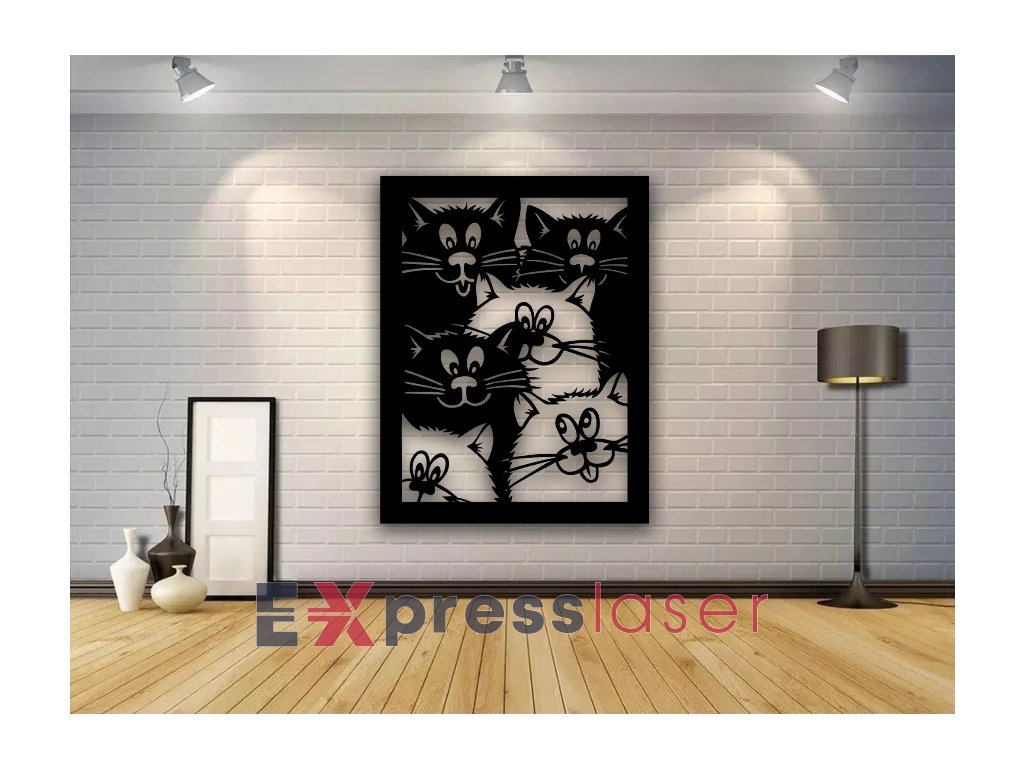 Screenshot 2021 05 19 Laser Cut Cats Wall Decor Panel Free Vector Dezin info