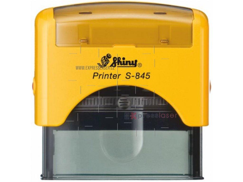 S-845 New Printer Line (70x25mm) černý polštářek