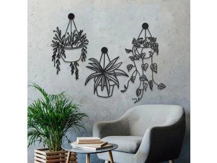 Screenshot 2021 05 19 Flowers and Pots Metal Wall Art Metal Wall Sculpture Dezin info
