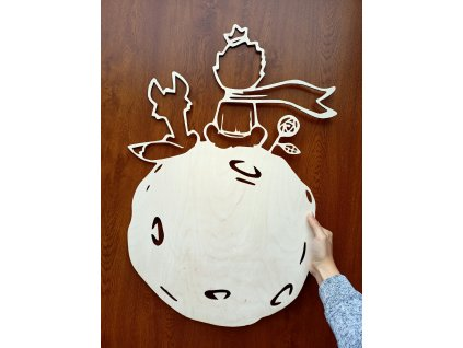 Dřevěný obraz - dekorace Malý princ