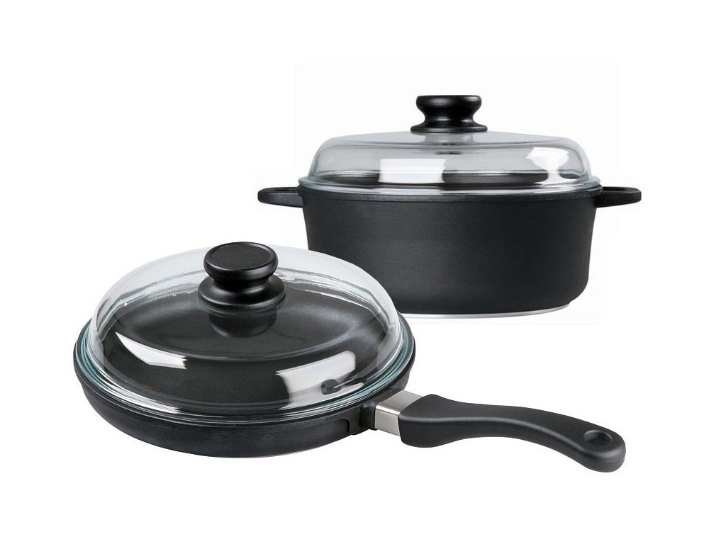 RETRO sada titanové nádobí PRO 243 + PRO 248