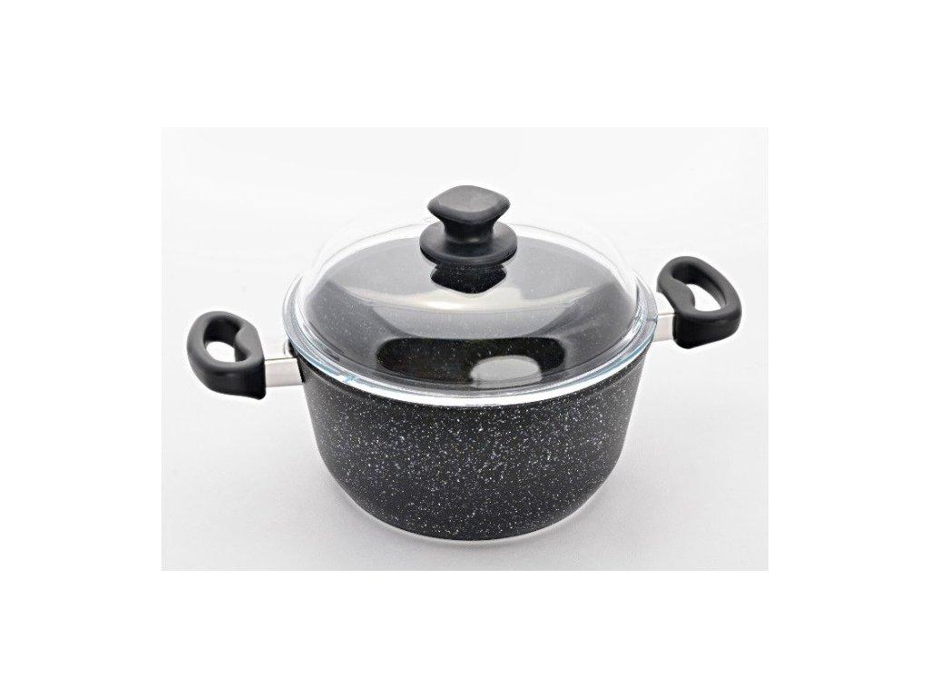 Granitový hrnec na polévku Ø28 cm, PROTITAN GRANIT INDUKCE - 2 barevné varianty