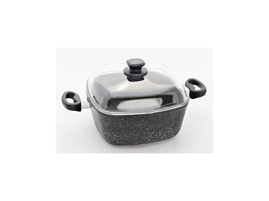 Granitový pekáč, 26x26/11 cm, PROTITAN GRANIT INDUKCE - 2 barevné varianty