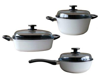 3dílná sada titanového nádobí INDUKCE WL 241+247+288