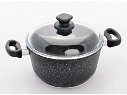 Granitový hrnec na polévku, Ø28 cm, PROTITAN GRANIT- 2 barevné varianty