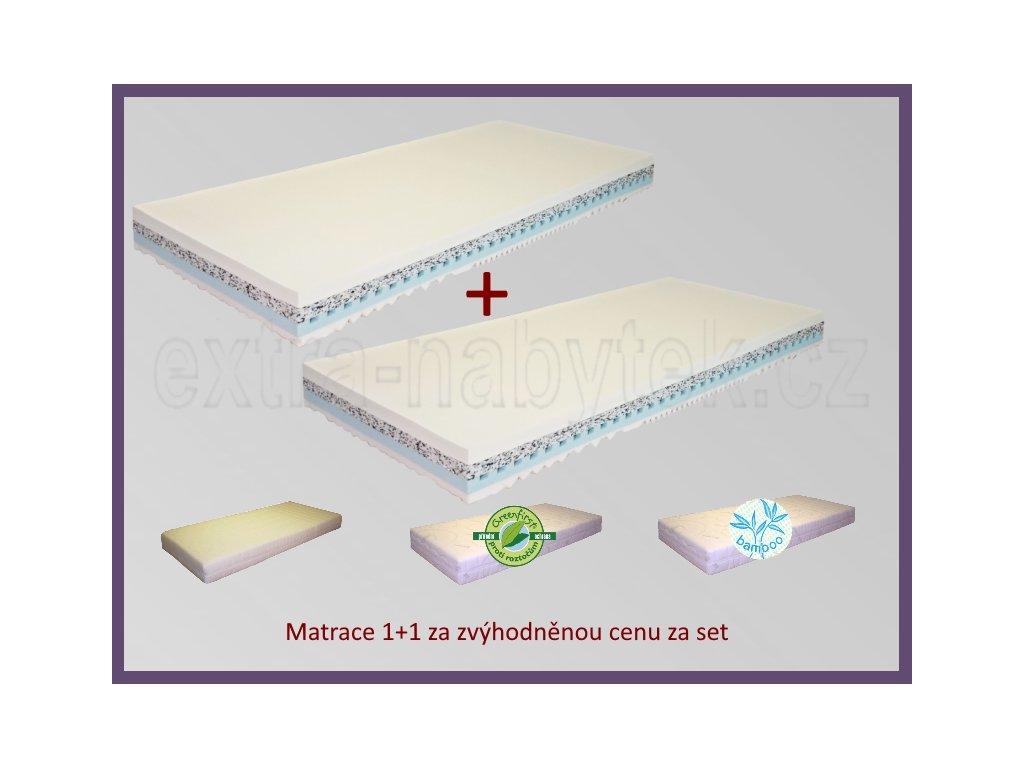 Matrace 1+1 Omaha  levné matrace