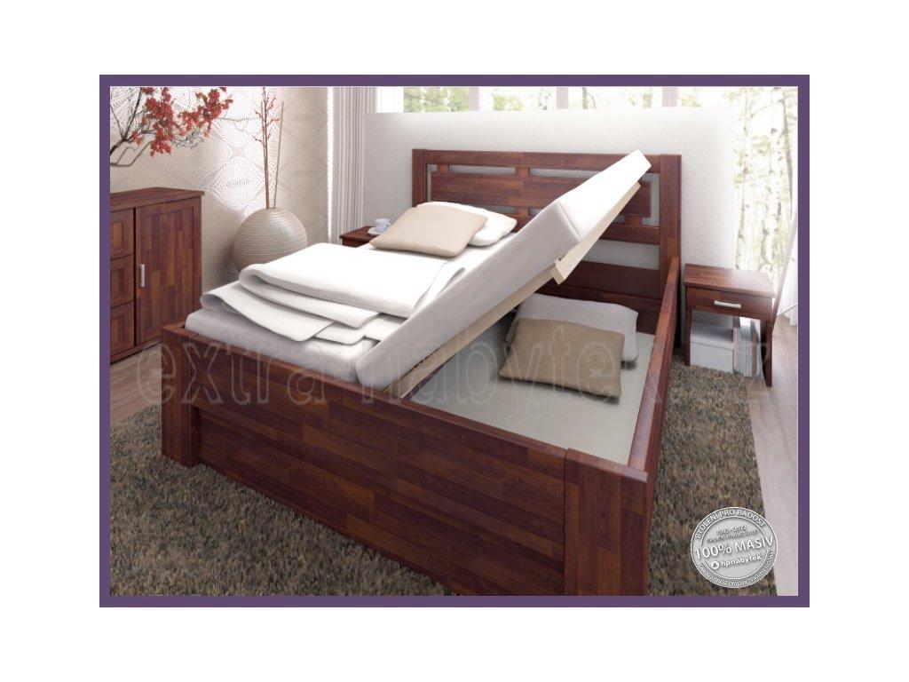 Úložný prostor závěsný 129 BUK  Závěsný box do postele