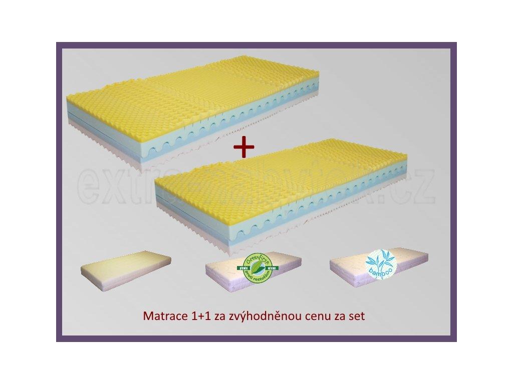 Matrace do postele 1+1 Texas  Moderní matrace