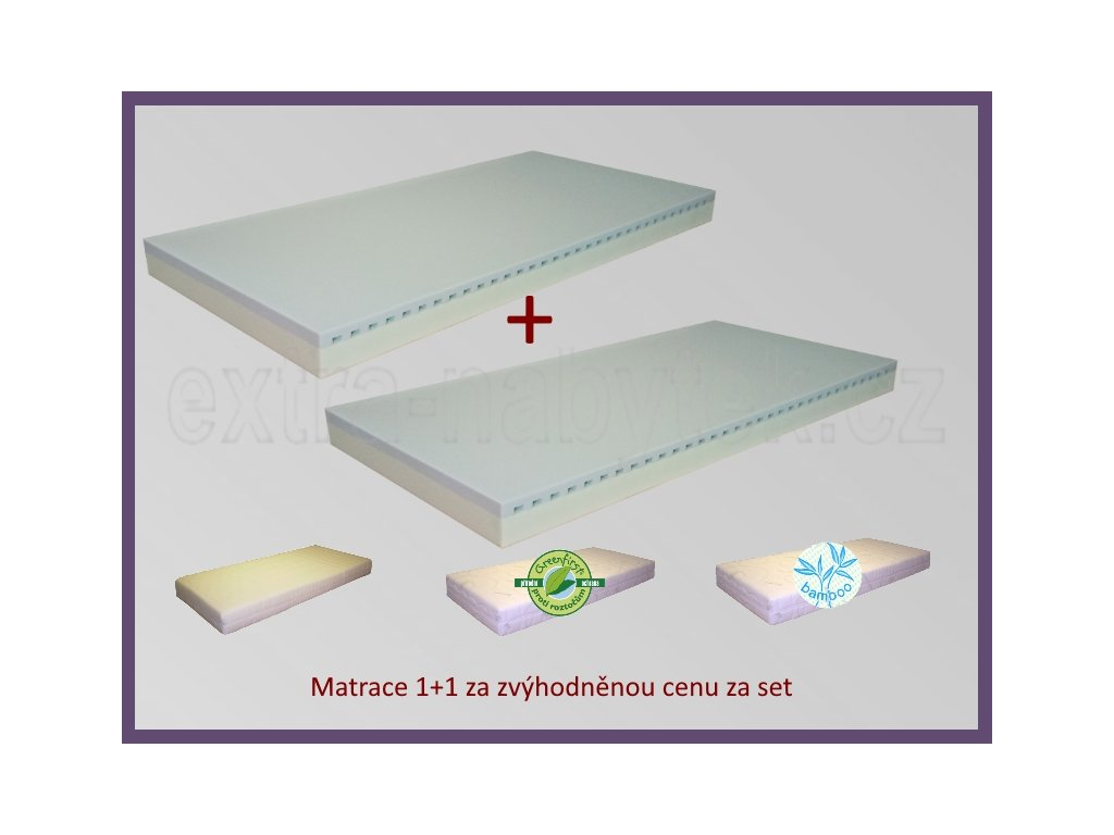 Matrace do postele 1+1 Nevada  Moderní matrace