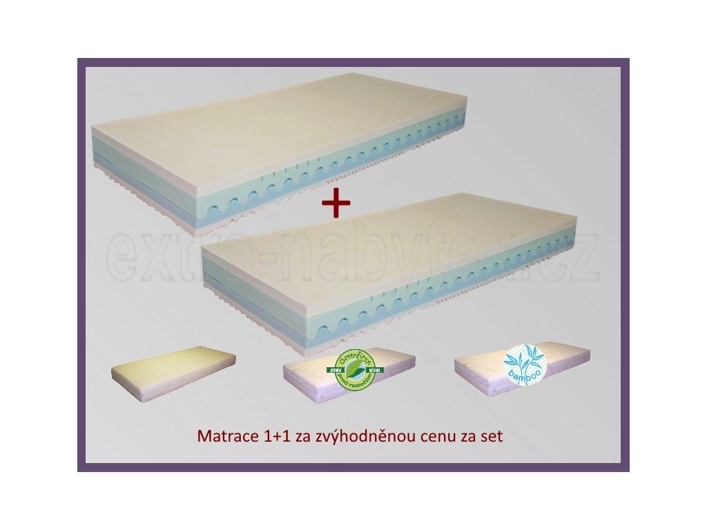 Matrace do postele 1+1 Ontario  Matrace od českého výrobce