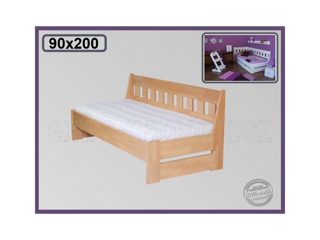 Postel Arleta senior lavice 121 BUK  Postel ve tvaru lavice