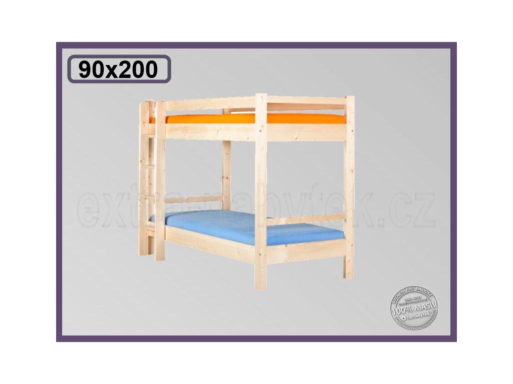 Edita patrová 123 SMRK  Patrová postel