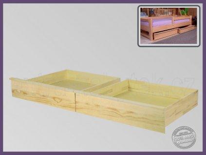 Úložný prostor 1/2 Půlený-pár 057 SMRK  Půlené úložné prostory a boxy pod celé lůžko