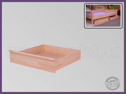 Úložný prostor 1/2 -půlka 057 BUK  Malý úložný prostor pod postele