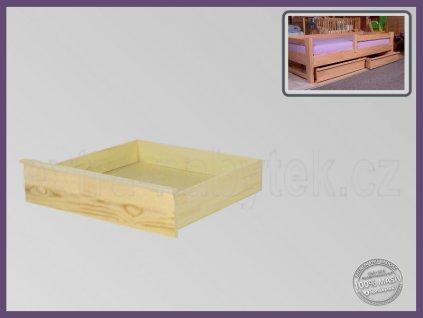 Úložný prostor 1/2 -půlka 057 SMRK  Malé úložné prostory a boxy pod postel