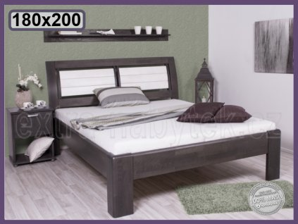 Postel Valencie 169 BUK  Luxusní postel ze dřeva