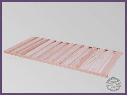 Laťový rošt v rámu BUK  Laťový rošt do postele nosnost 130kg.