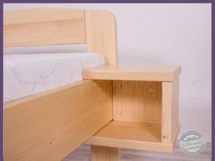 Závěsný stolek 151 SMRK  Závěsný stolek na postel ze dřeva