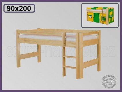 Lucas zvýšená 101 SMRK  Zvýšená postel pro děti